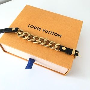 Louis Vuitton golden bracelet
